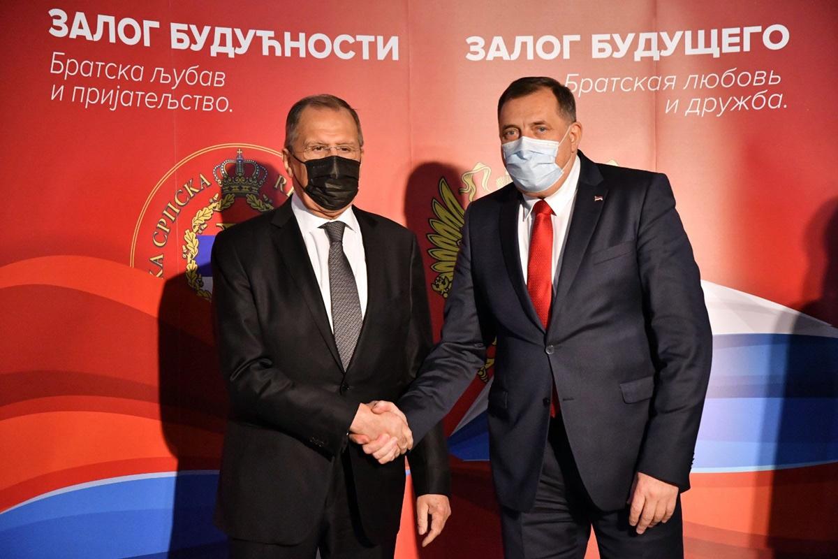 Lavrov: Η Συμφωνία του Dayton αποτελεί θεμέλιο της λειτουργίας της Β-Ε