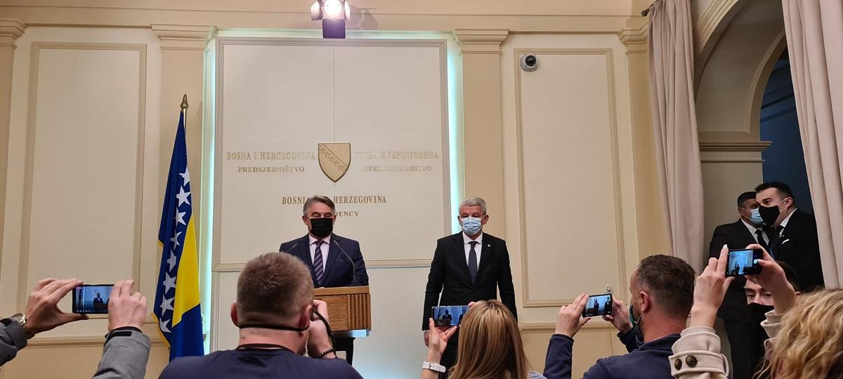 Β-Ε: Džaferović και Komšić αρνήθηκαν να συναντηθούν με τον Lavrov