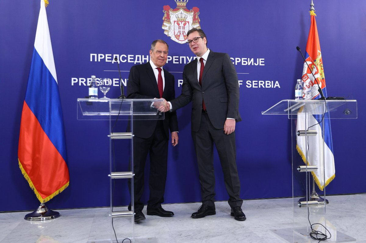 Σερβία: Ολοκληρώθηκε η επίσκεψη Lavrov στο Βελιγράδι, όπου επιβεβαιώθηκαν οι ισχυροί διμερείς δεσμοί