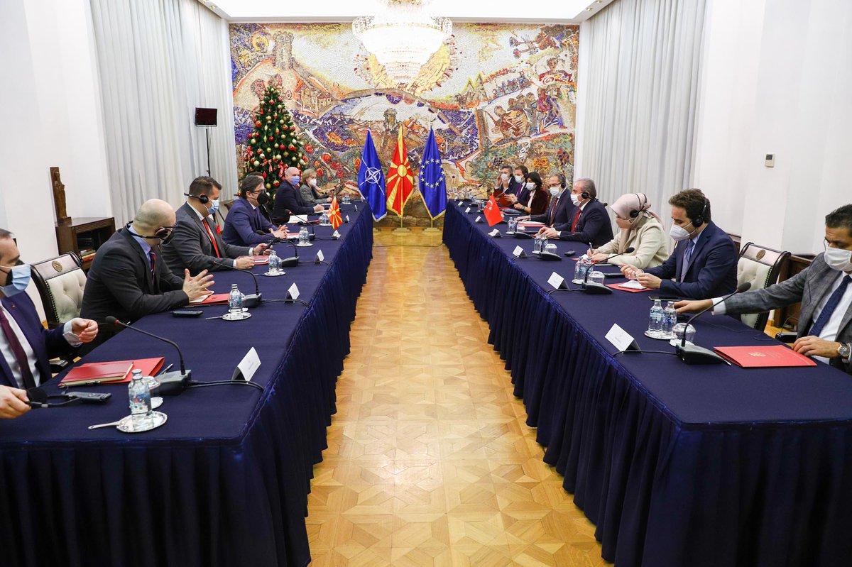 Ενισχύουν τις σχέσεις τους Βόρεια Μακεδονία και Τουρκία