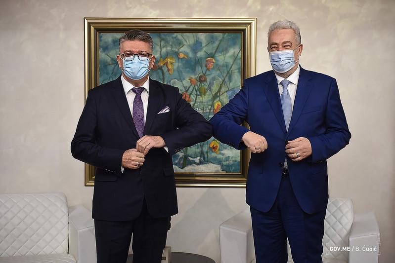 Μαυροβούνιο: Συνάντηση Krivokapić με τον Πρέσβη της Κροατίας-Η Prevlaka το μόνο ανοιχτό ζήτημα μεταξύ των δύο χωρών