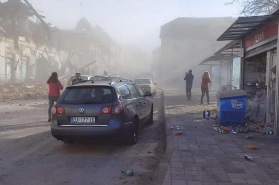 Νέος ισχυρός σεισμός στην κεντρική Κροατία