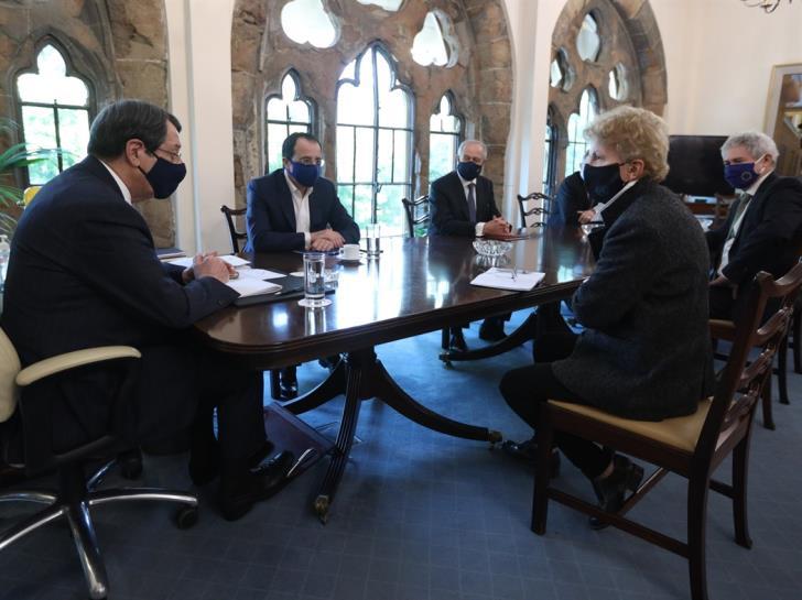 Κύπρος: Έτοιμος δήλωσε ο Αναστασιάδης να συμμετάσχει σε άτυπη πενταμερή