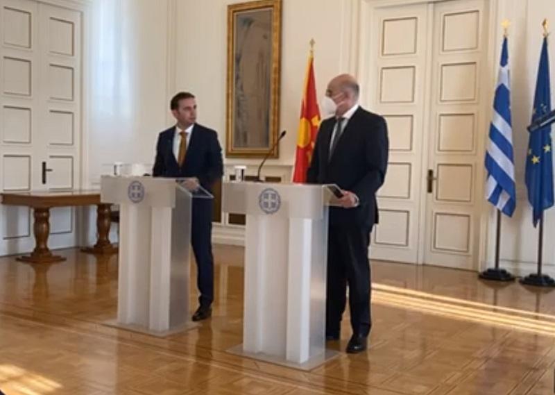 Βόρεια Μακεδονία: Με την πολιτειακή και πολιτική ηγεσία της Ελλάδας συναντήθηκε ο Osmani
