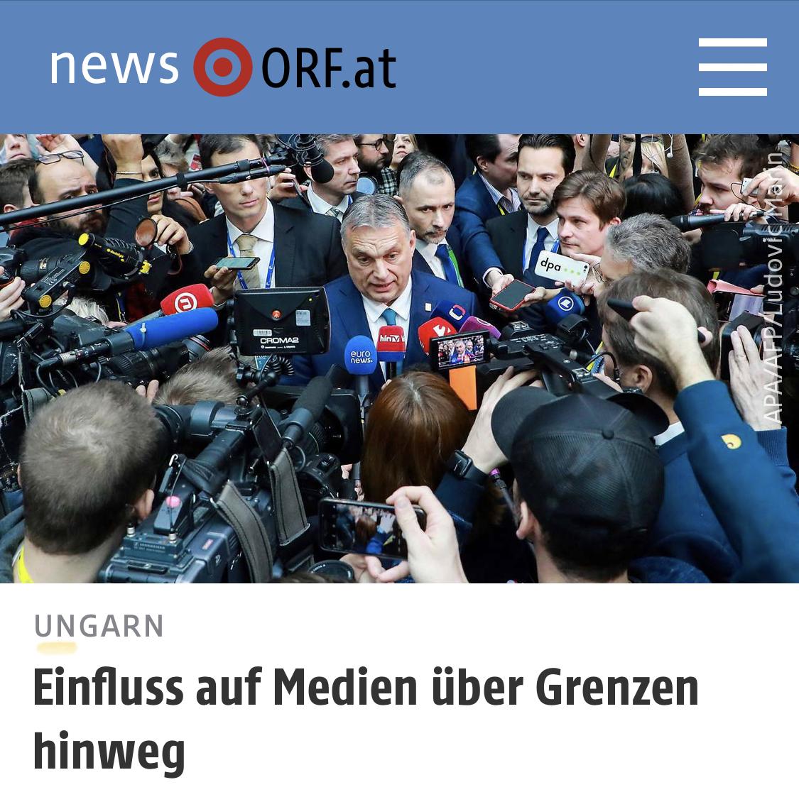 ORF: Πώς η Ουγγαρία επηρεάζει τα μέσα ενημέρωσης στη Σλοβενία και τη Βόρεια Μακεδονία