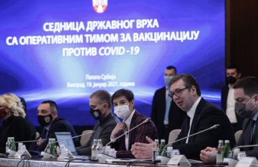 Σερβία: Ξεκίνησε ο μαζικός εμβολιασμός. Αιχμές για την ΕΕ