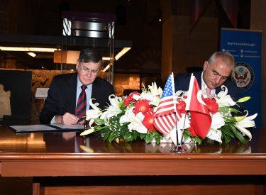 Τουρκία: Μνημόνιο Συνεργασίας για την προστασία της τουρκικής πολιτιστικής ιδιοκτησίας υπεγράφη με τις ΗΠΑ