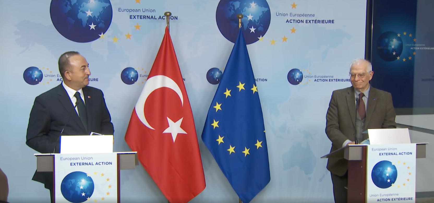 Çavuşoĝlu: Οι σχέσεις Τουρκίας ΕΕ είναι σημαντικές για την ευημερία στην περιοχή μας