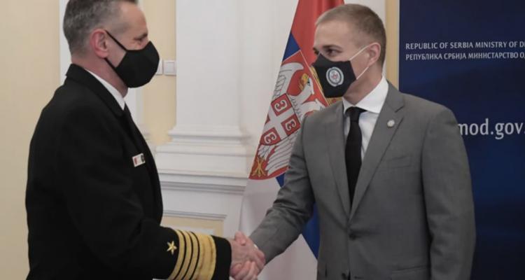 Σερβία: Τον Διοικητή της Συμμαχικής Δύναμης του ΝΑΤΟ στη Νάπολη συνάντησε ο Stefanovic