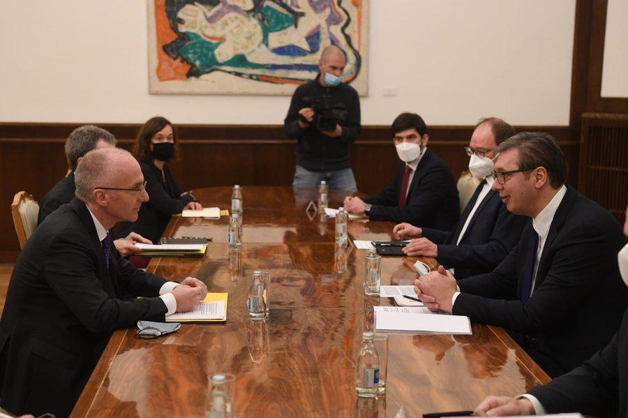Σερβία: Ο Vučić συναντήθηκε με τον Γερμανό Πρέσβη