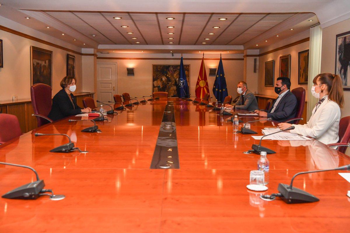 Βόρεια Μακεδονία: Συνάντηση Zaev με την επικεφαλής του UNDP