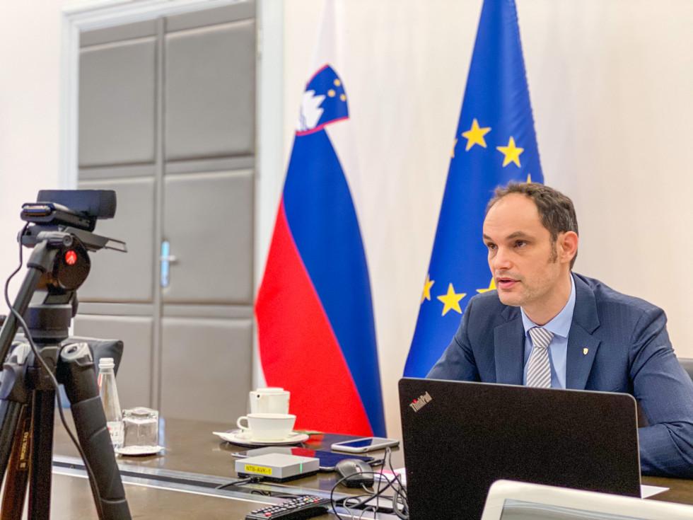 Σλοβενία: Εφικτή η ευρωπαϊκή πράσινη και ψηφιακή ανάκαμψη μόνο μέσω αποτελεσματικής συνεργασίας και συντονισμού, δήλωσε ο Logar