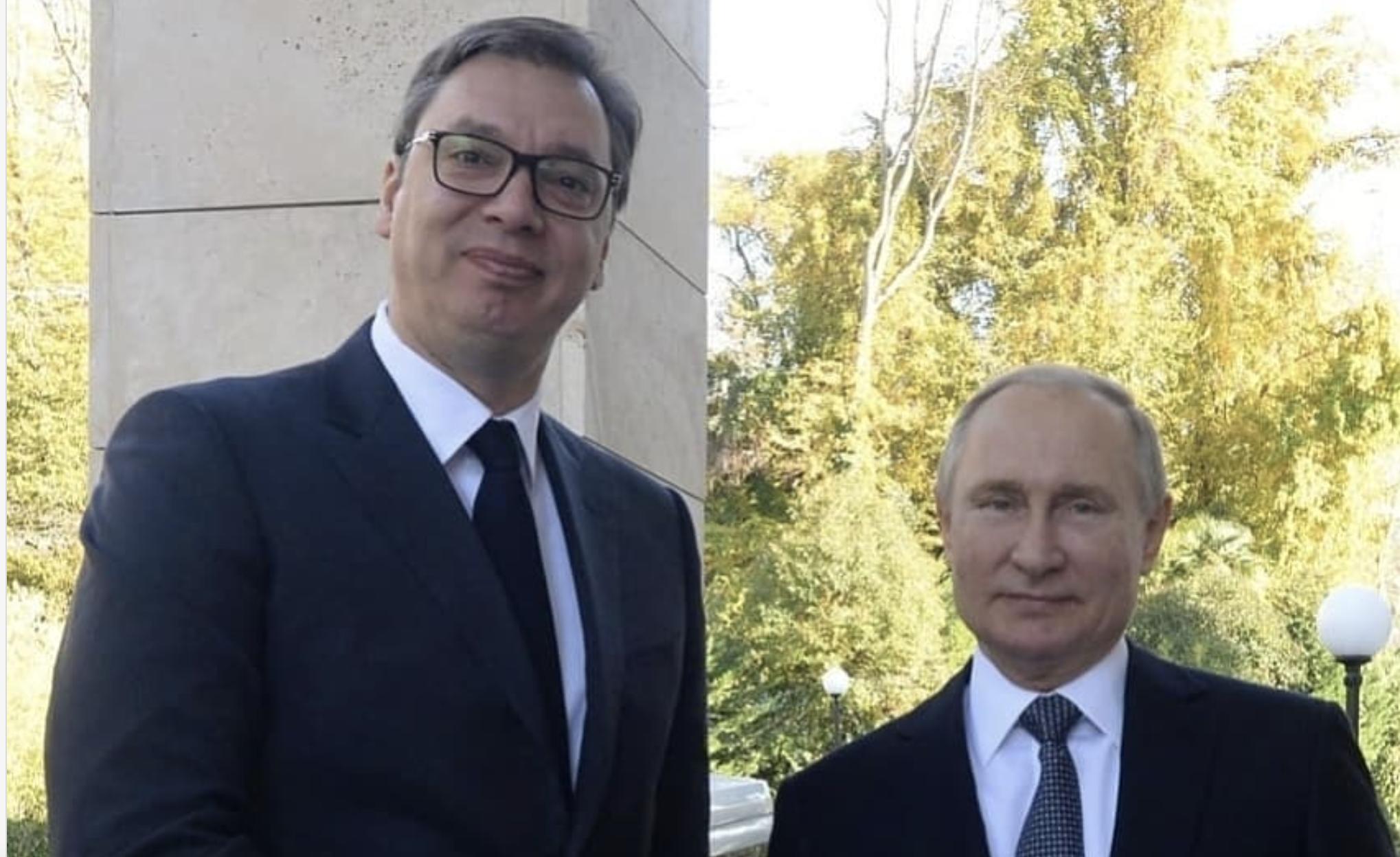 Σερβία: Τηλεφωνική επικοινωνία Vučić – Putin
