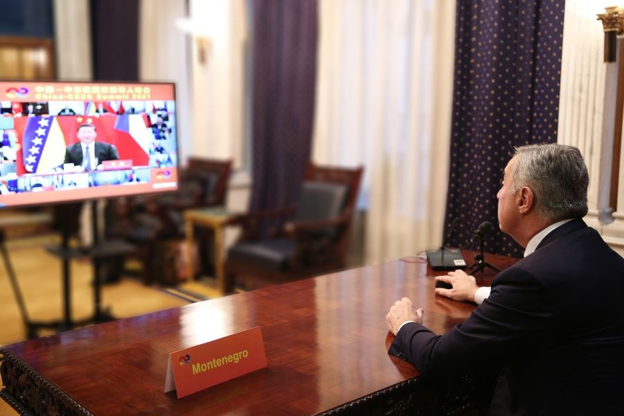 Μαυροβούνιο: Στόχος του Đukanović η ενίσχυση των δεσμών με Κίνα
