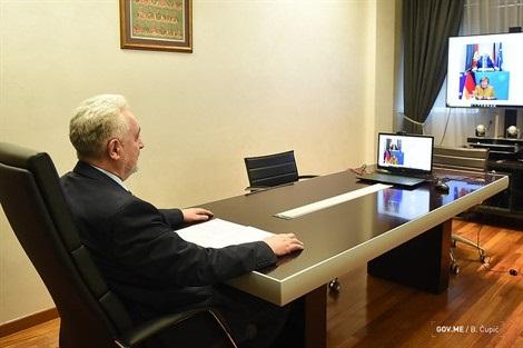 Μαυροβούνιο: Επικοινωνία Krivokapić με την Angela Merkel