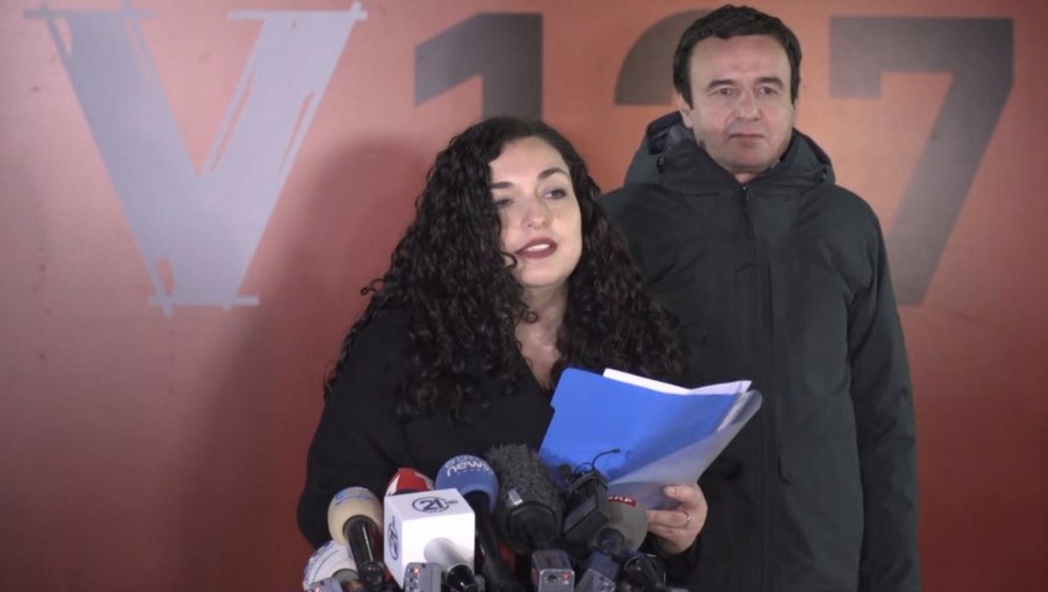 Κοσσυφοπέδιο: Kurti και Osmani νίκησαν στις πρόωρες εκλογές