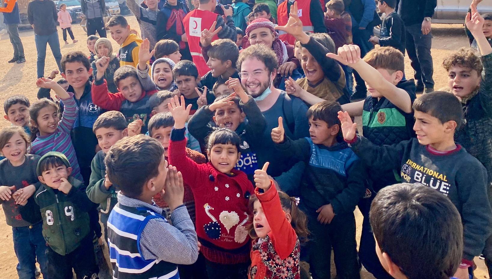 Αποστολή στο Idlib: Η ελπίδα και η επιθυμία για ζωή δίνει δύναμη στους πρόσφυγες (Μέρος Β')