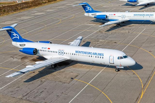 Μαυροβούνιο: Ζοφερό μέλλον για τους πιλότους της Montenegro Airlines