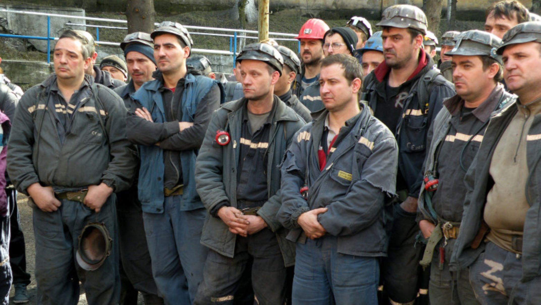 Ρουμανία: Συνεχίζουν τις κινητοποιήσεις τους οι ανθρακωρύχοι