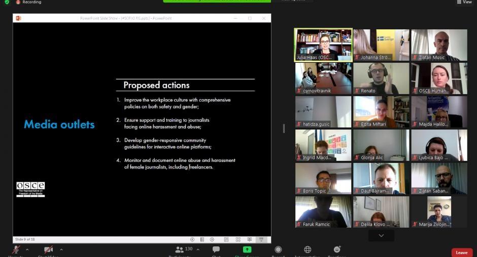 Β-Ε: Συζήτηση του ΟΑΣΕ για την παρενόχληση των γυναικών στη δημόσια σφαίρα