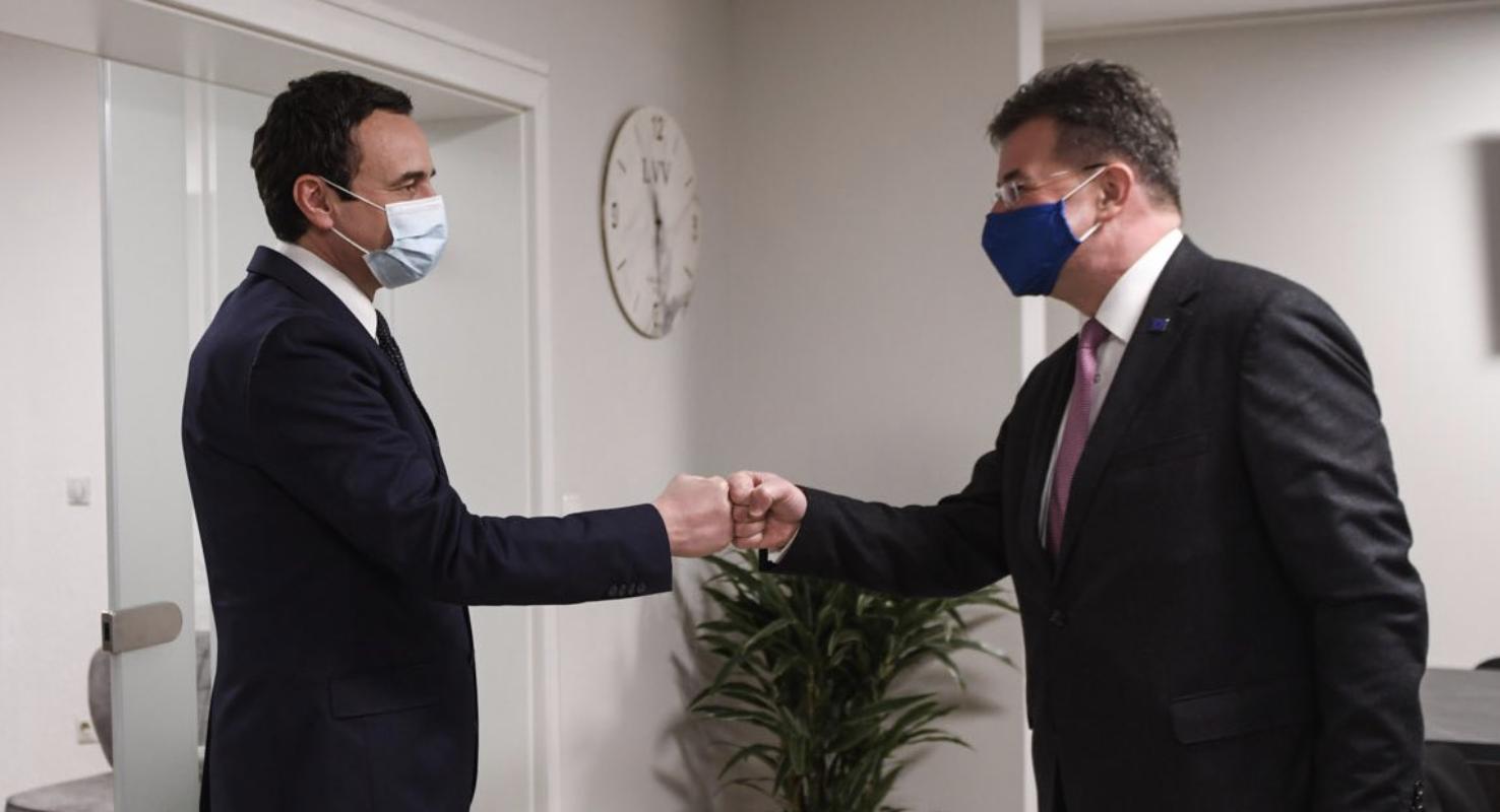 Κοσσυφοπέδιο: Συνεχίζει την επίσκεψη του ο Lajcak, συναντήθηκε με Kurti και Osmani