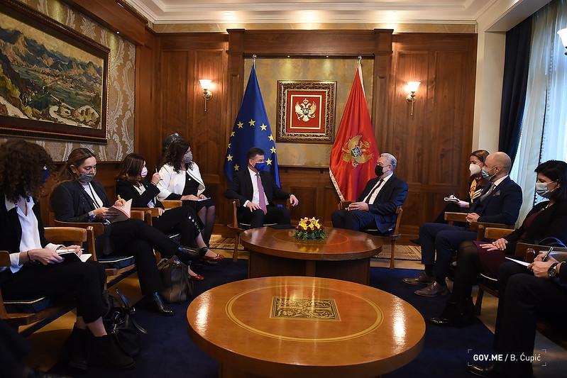 Μαυροβούνιο: Συνάντηση Krivokapić με Lajčak