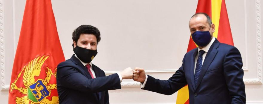 Μαυροβούνιο: Συνάντηση Abazović και Bitići στα Σκόπια