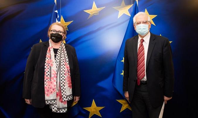 Β-Ε: Συνάντηση Turković με Borrell και άλλους αξιωματούχους της ΕΕ