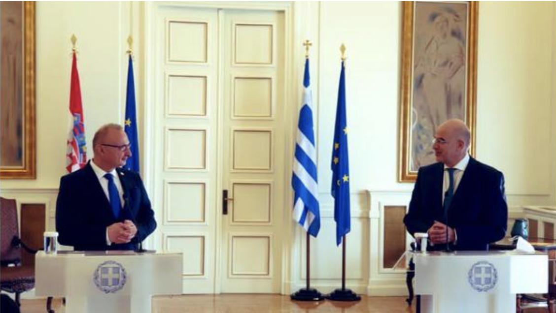 Κροατία: Στήριξη από την Ελλάδα για την συμμετοχή στους MED7