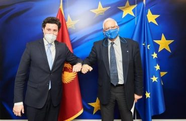 Μαυροβούνιο: Συνάντηση Abazović-Borrell στις Βρυξέλλες