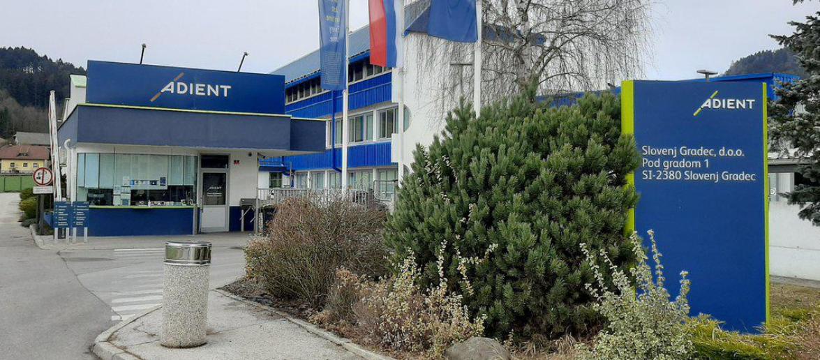 Σλοβενία: Η Adient κλείνει το εργοστάσιο στο Slovenj Gradec