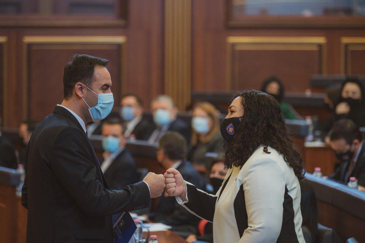 Κοσσυφοπέδιο: Εκλέχθηκε νέος Πρόεδρος της Εθνοσυνέλευσης ο Glauk Konjufca