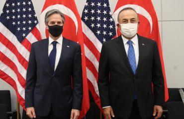 Τουρκία: Συνάντηση Cavusoglu -Blinken πραγματοποιήθηκε στις Βρυξέλλες στο περιθώριο της διάσκεψης του ΝΑΤΟ
