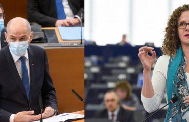 Σλοβενία: Βολές Janša προς την Ευρωβουλευτή in 't Veld για λογοκρισία-Κάλεσμα για την παραίτησή της
