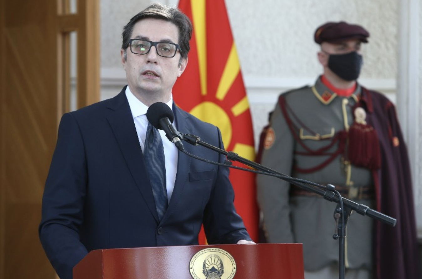 Ο Pendarovski ευχαρίστησε τη Σερβία, αλλά σημείωσε ότι είναι «ντροπή για το κράτος της Βόρειας Μακεδονίας»
