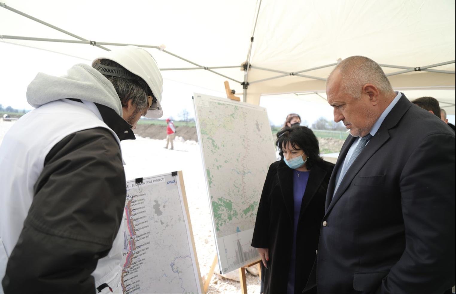 Βουλγαρία: Μέχρι το τέλος του έτους η διασύνδεση του αγωγού ΦΑ με την Ελλάδα, δήλωσε ο Borissov