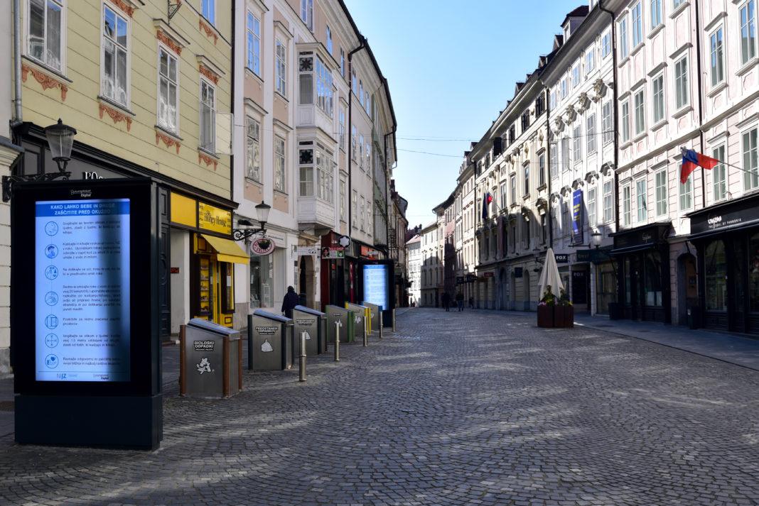 Σλοβενία: Τρίτο lockdown από σήμερα το πρωί