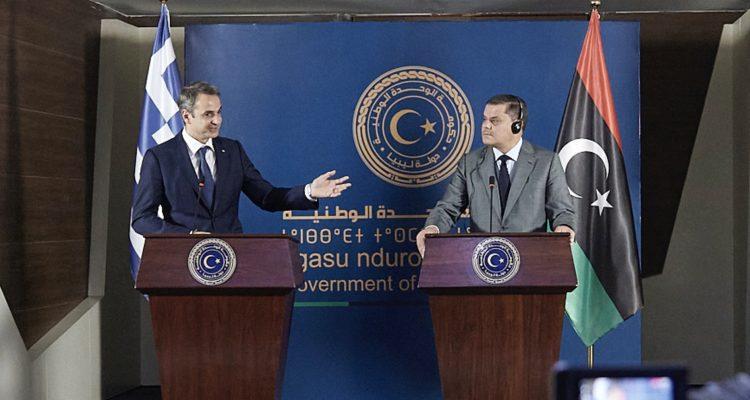 Κοινή επιτροπή Λιβύης, Ελλάδας και Τουρκίας ζήτησε ο Πρωθυπουργός της Λιβύης από τον Μητσοτάκη