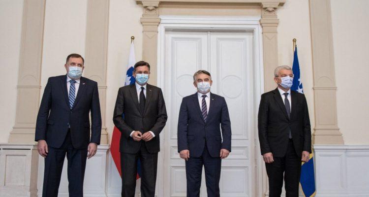 Β-Ε: Κλήτευση του Σλοβένου πρεσβευτή Bukinac στην Προεδρία για τις ιδέες Pahor- Janša περί διάλυσης της χώρας