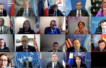 Επεισόδιο στο Συμβούλιο Ασφαλείας για τα σύμβολα του Κοσσυφοπεδίου σε διαδικτυακή συνέλευση