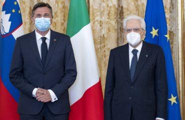 Σλοβενία: Συνάντηση Pahor με τον Ιταλό Πρόεδρο Sergio Matarella στη Ρώμη