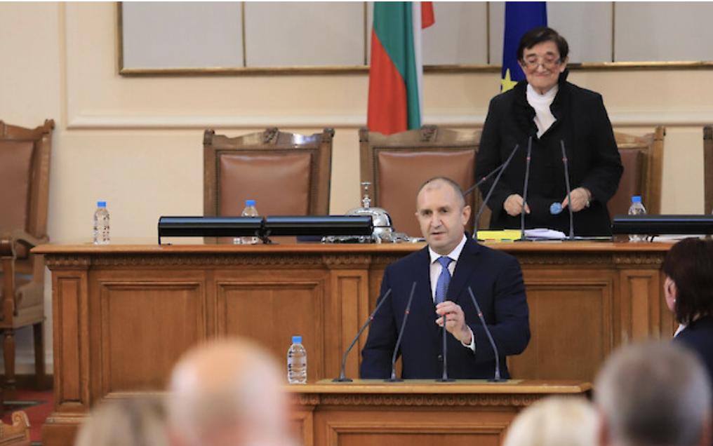 Βουλγαρία: Υπέβαλε την παραίτηση της Κυβέρνησης του ο Borissov, στην εναρκτήρια συνεδρίαση της 45ης Εθνοσυνέλευσης όπου μίλησε ο Radev