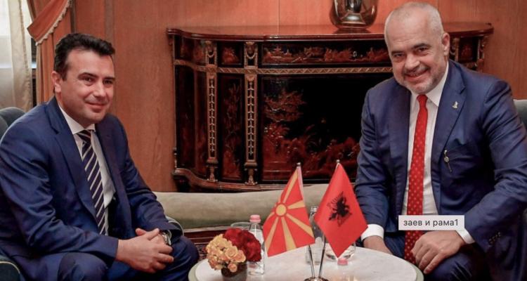 Ο Zaev κάλεσε τη μακεδονική μειονότητα στην Αλβανία να ψηφίσουν τον Edi Rama