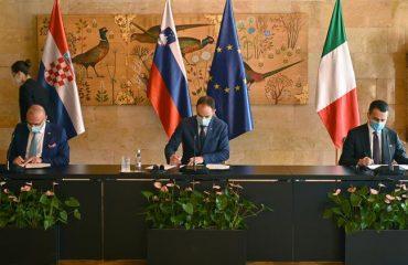 Κοινή δήλωση Σλοβενίας, Ιταλίας και Κροατίας για συνεργασία στη Βόρεια Αδριατική