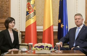 Η Ρουμανία παραμένει κύριος εταίρος της Μολδαβίας, δήλωσε ο Iohannis σε συνάντηση με την Πρόεδρο Sandu
