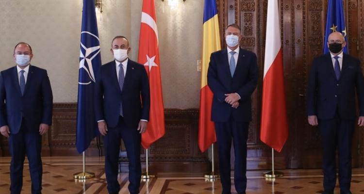 Ρουμανία: Συνάντηση Iohannis με τους ΥΠΕΞ Πολωνίας και Τουρκίας