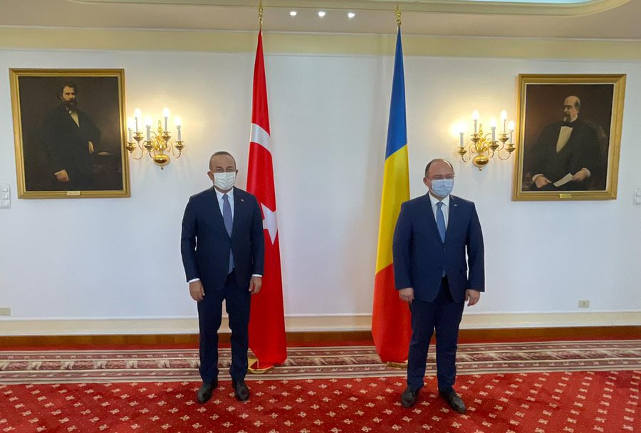 Ρουμανία: Συνάντηση Aurescu- Çavuşoğlu στο περιθώριο της τριμερούς Ρουμανίας-Τουρκίας-Πολωνίας