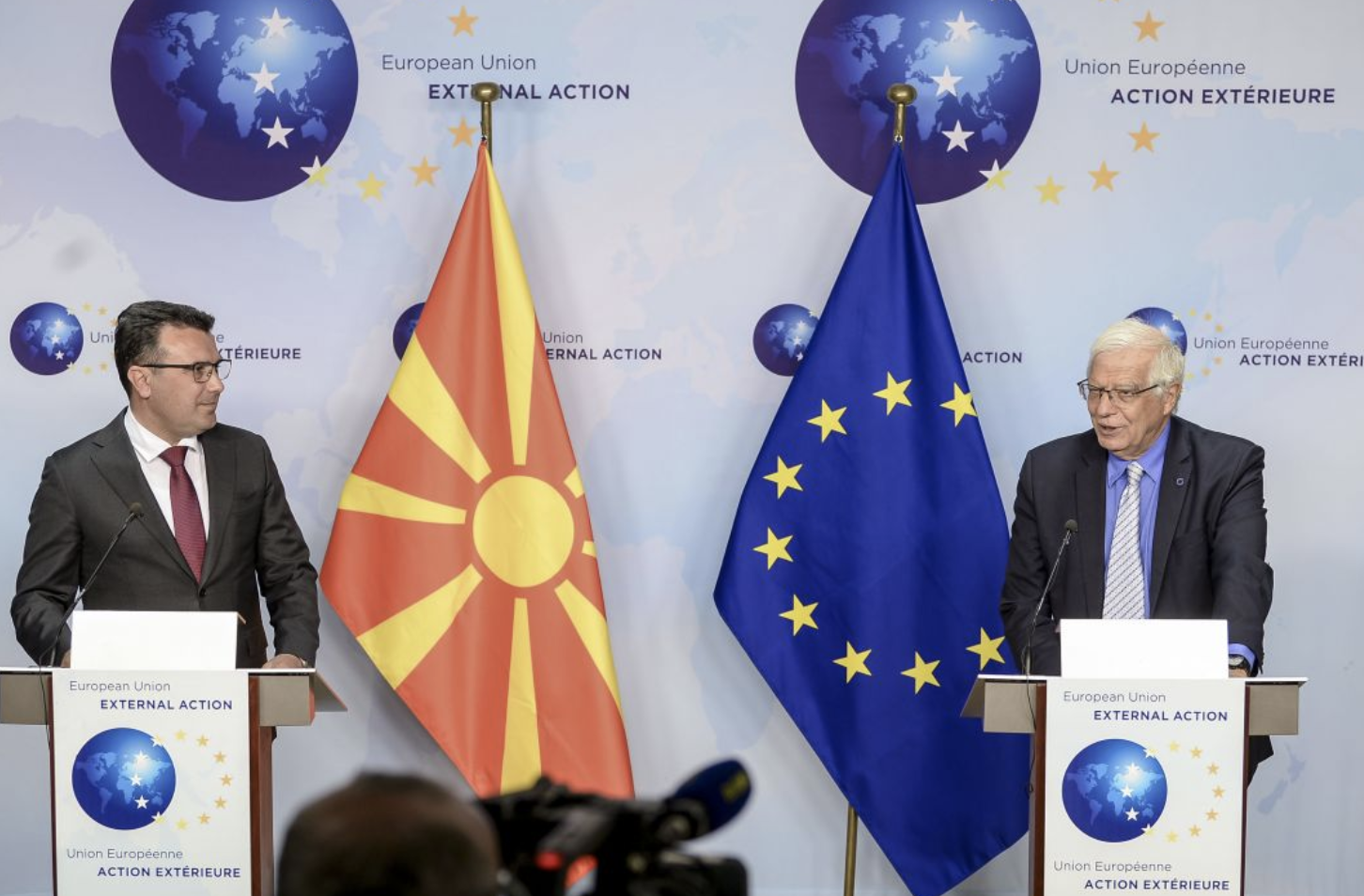 Borrell: Δεν υπάρχει υποστήριξη στην αποσύνδεση Βόρειας Μακεδονίας Αλβανίας