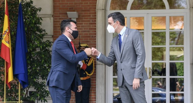 Η Ισπανία στηρίζει τη Βόρεια Μακεδονία στην πορεία της προς την Ευρωπαϊκή Ένωση