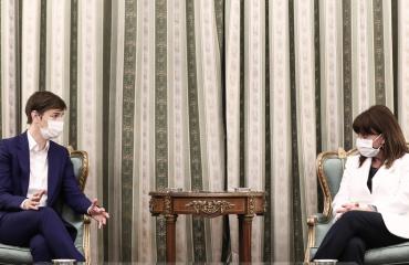 Ελλάδα: Με Krivokapić, Brnabić και Dodik συναντήθηκε η Πρόεδρος της Δημοκρατίας